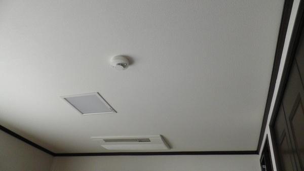 続き部屋の天井