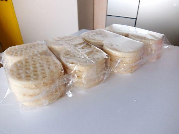 コストコ ブログ 商品 マッケイン ワッフル 980円 McCain Gold'n Crisp Waffles