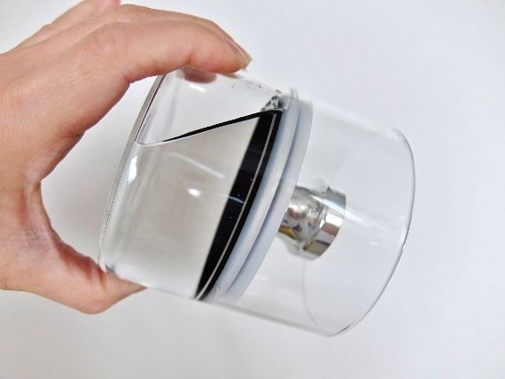 エア リデューサー スリム フェリオ ガラス キャニスター 密封 おしゃれ 保存容器