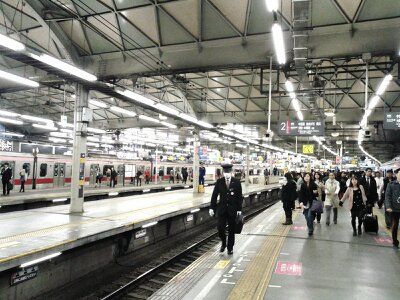 渋谷駅東横線2013年3月・2