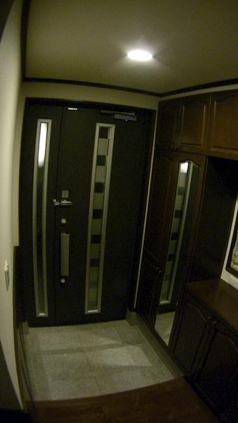 玄関ドア フレディア 親子ドア断熱タイプ SS102 カフェボローニア
