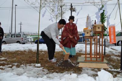 美里町地鎮祭