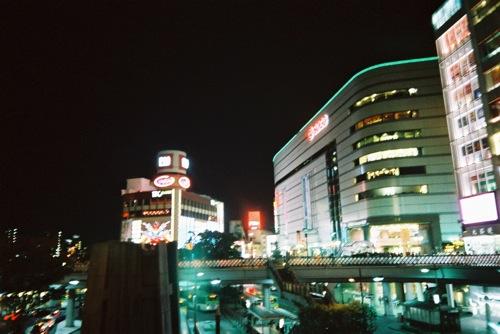 【FUJIFILM CLEAR SHOT S AF】川口駅の夜景