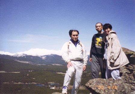 ローリングピーク山頂