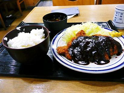 美味しい!名古屋 栄 とんかついし河のみそかつ定食