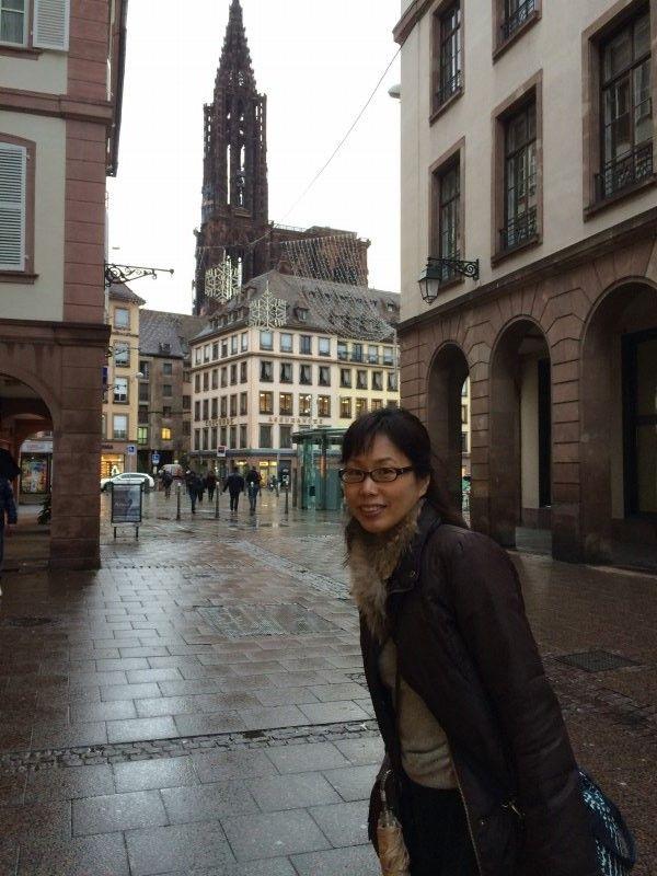 前回訪れたストラスブールのノートルダム大聖堂