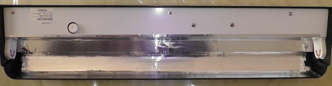 コトブキ スカイライト600 スリムにアルミテープを貼る