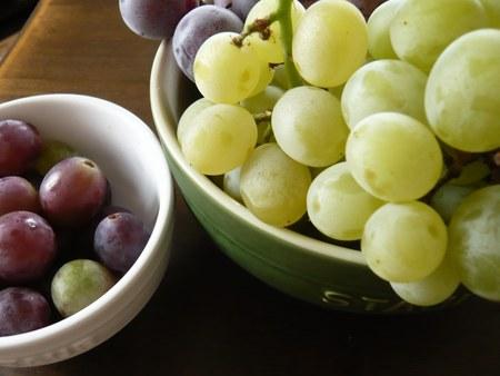 8いただきもの 混ぜ洗い葡萄 お皿付き450.jpg