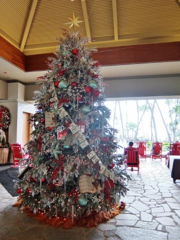 ハワイ オアフ ヒルトン クリスマス Hawaii