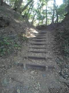笠間城入り口