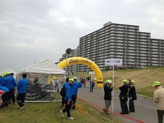 淀川国際ハーフマラソン130320