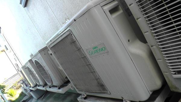 床暖房の室外機ユニット