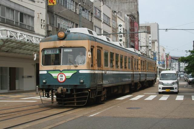 福井鉄道 大型車両 フル活動5