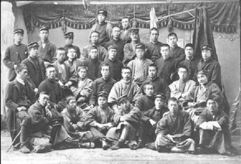 明治時代の札幌農学校の学生