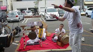 郵便局踊り 6,30.JPG