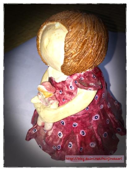 紙粘土人形4