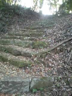 2の丸へ上がる石段3
