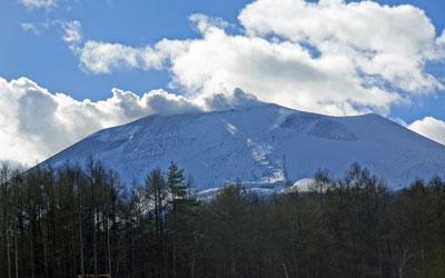 11月末日の浅間山