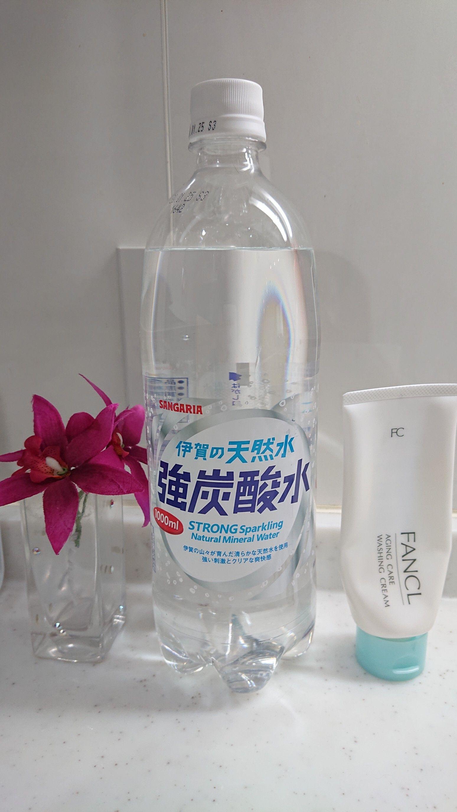 洗顔 炭酸 仕方 水 の