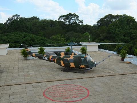 ホーチミン 統一会堂 ベトナム 戦争 終結