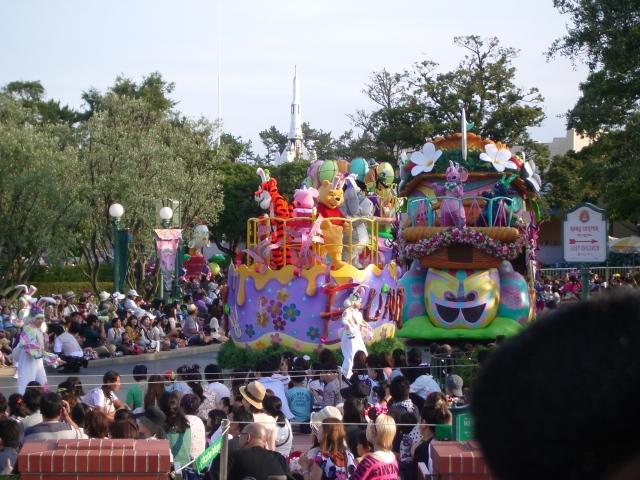 2012.06.30 ディズニーランドパレード