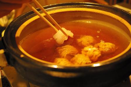 すき鍋にはまず鱧を入れる.jpg