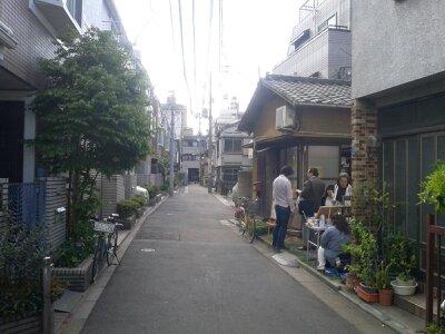 一箱古本市2013・1日目明の窓茶ノ間