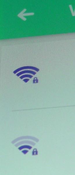 WiFiの電波強度