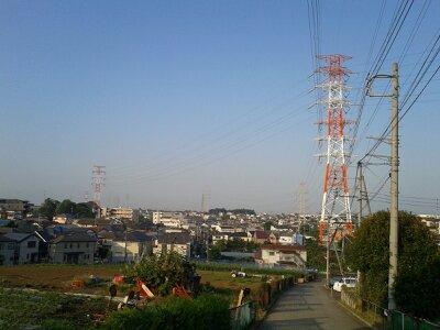 近所の風景2013年7月朝