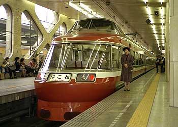小田急電鉄ロマンスカー