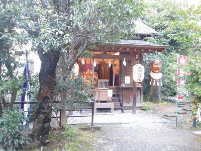 大綱金刀比羅神社2013年2月・お堂2