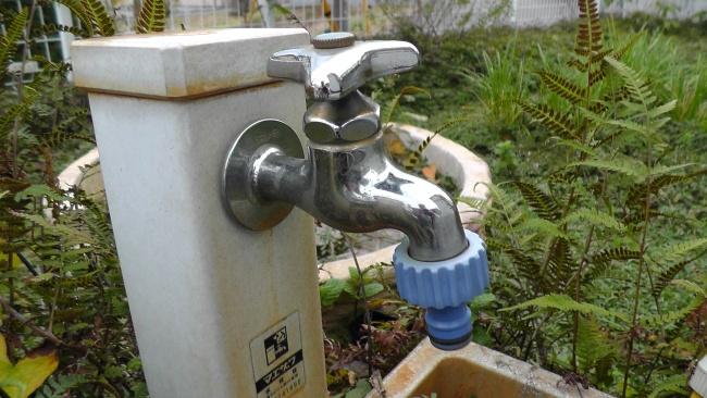 井戸の水栓