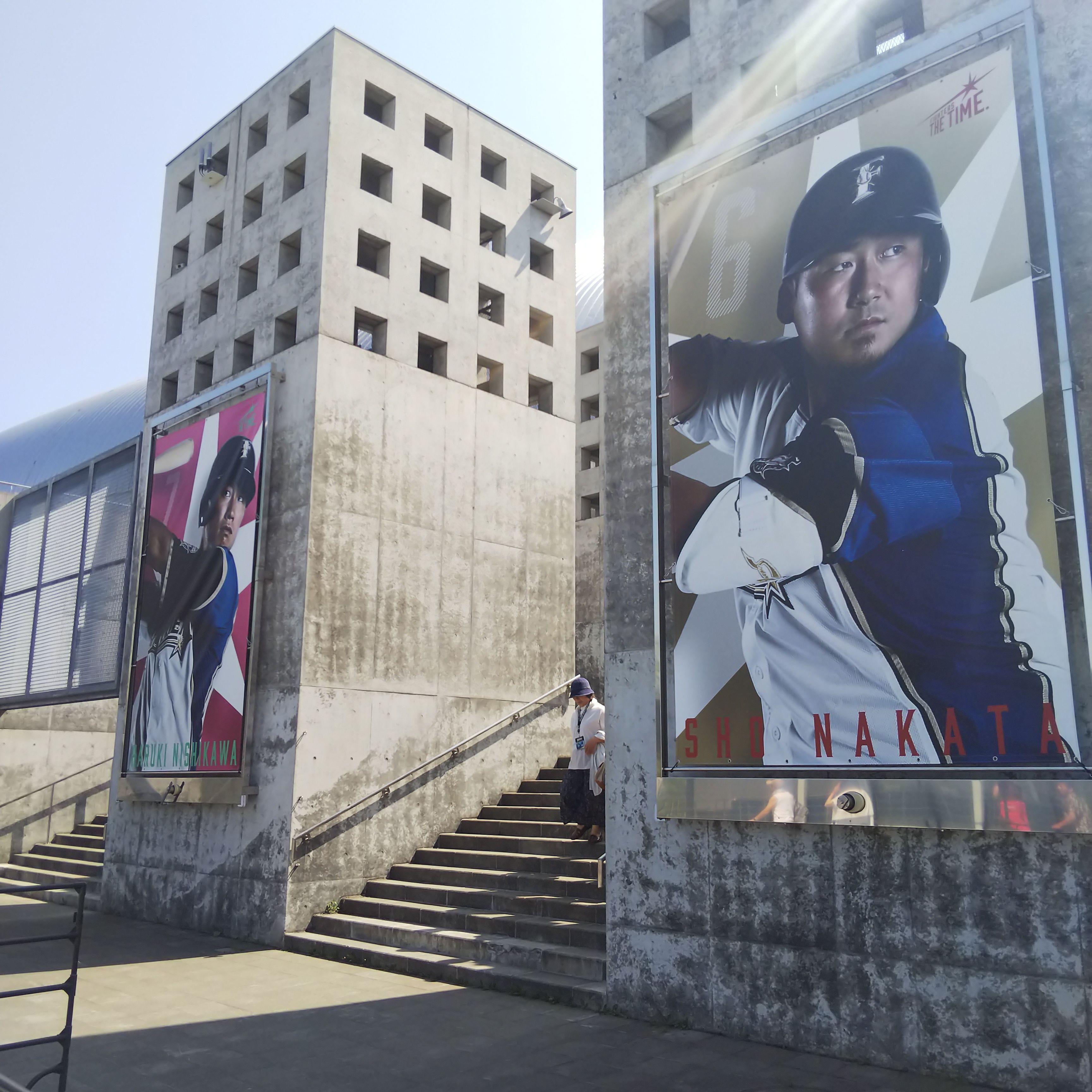 札幌ドーム_選手パネル