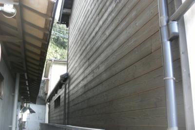焼き杉板外壁