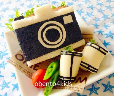 カメラとフィルムのサンドイッチ