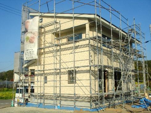 K様邸-外壁工事2