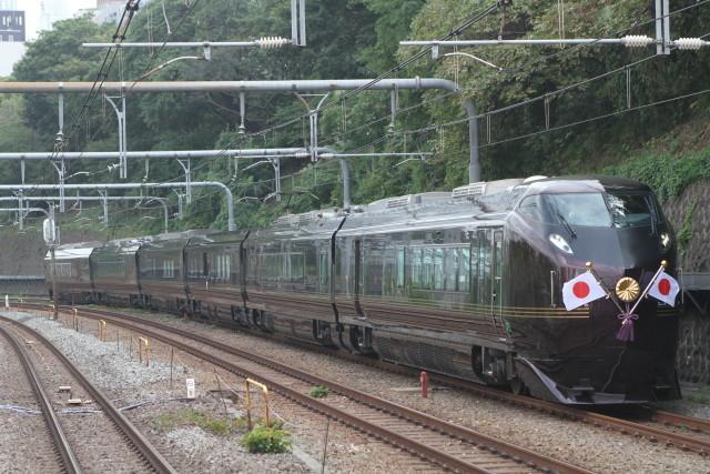 中央線 お召し列車. 運転