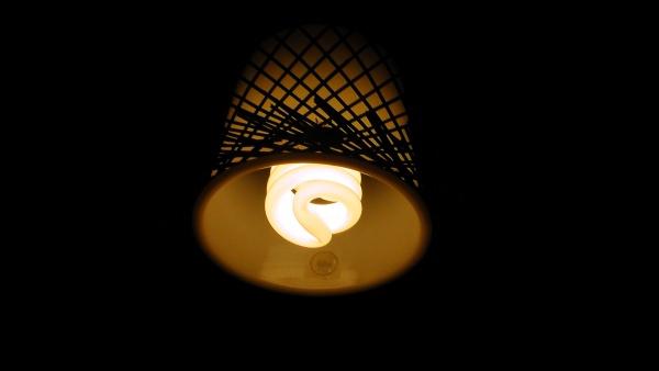 消費電力11Wの電球型蛍光灯に変更 Panasonic EFD15EL/11E/E17