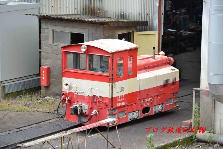 大井川鉄道のカトー8トンディーゼル機