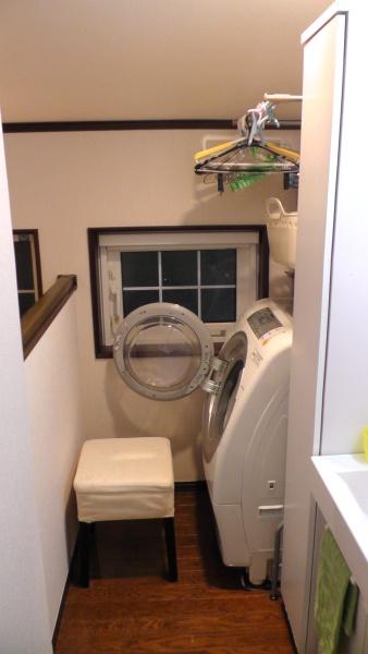 設置前の洗濯コーナー