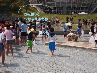 5月4日 フルーツ公園 魚のつかみ取り.jpg