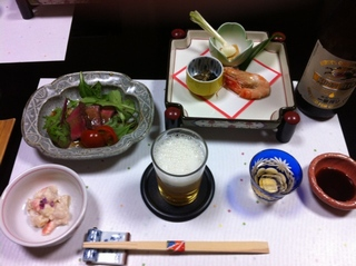 天作の夕食1