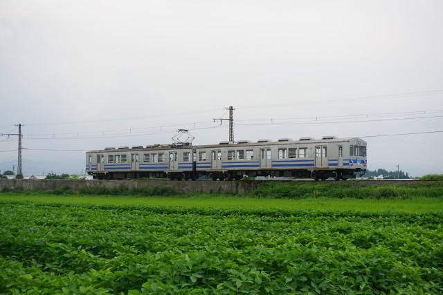 弘南鉄道 コンクリート橋から弘前3