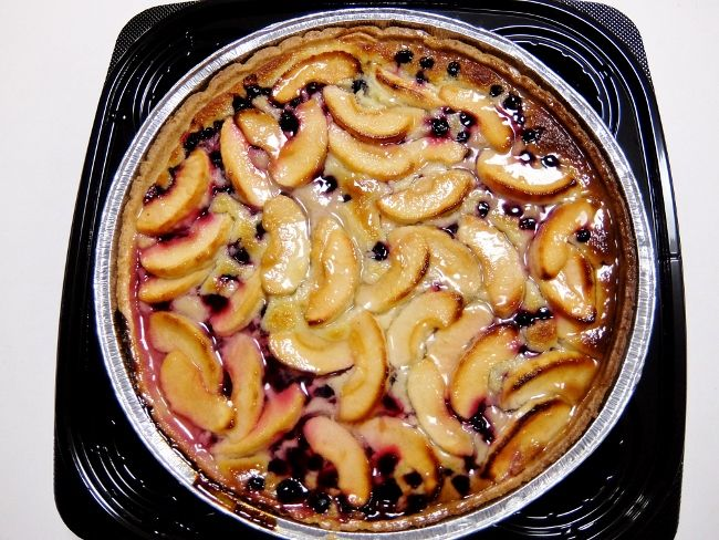 コストコ ケーキ タルト レポ アップル&ブラックカラントタルト 円 Apple&Black Currant Tart