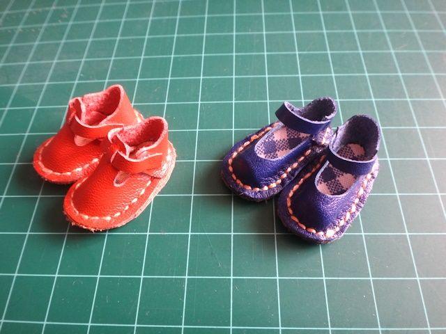 リカちゃんの靴、作ってみました!!
