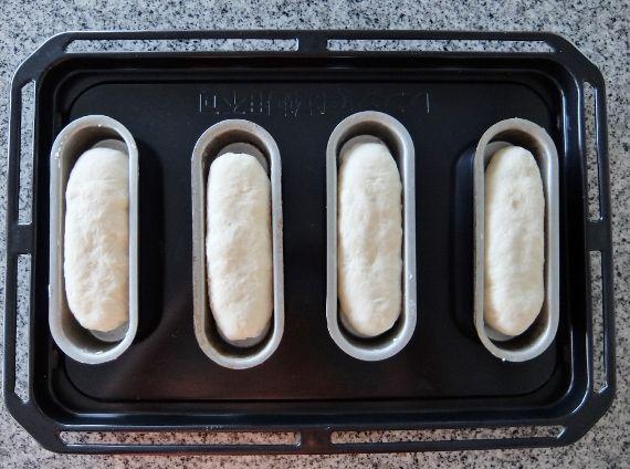手捏ね 手作り ホットドッグ パン型