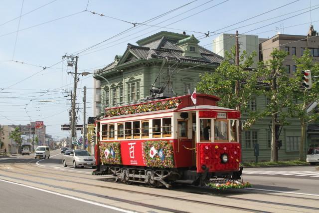 函館市電 100周年 レトロ電車 大行進2