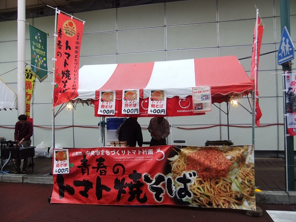 模擬店3@第44回信玄公祭り(甲府)
