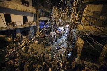 レバノン IS自爆テロ