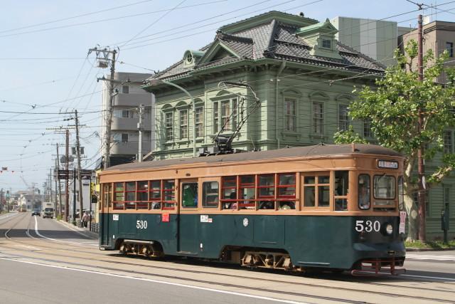 函館市電 100周年 レトロ電車 大行進3